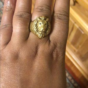 Heritage lion Ring